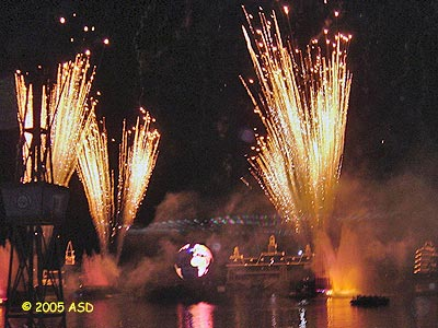 Walt Disney World Welcomes 2005