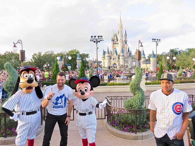 Cubs in Magic Kingdom 2016